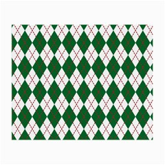Plaid Triangle Line Wave Chevron Green Red White Beauty Argyle Small Glasses Cloth