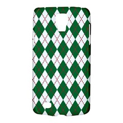 Plaid Triangle Line Wave Chevron Green Red White Beauty Argyle Galaxy S4 Active