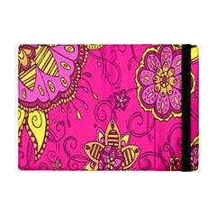 Pink Lemonade Flower Floral Rose Sunflower Leaf Star Pink iPad Mini 2 Flip Cases