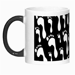Population Soles Feet Foot Black White Morph Mugs
