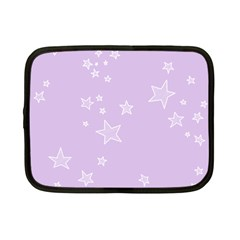 Star Lavender Purple Space Netbook Case (Small)