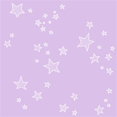 Star Lavender Purple Space Magic Photo Cubes
