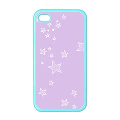 Star Lavender Purple Space Apple iPhone 4 Case (Color)