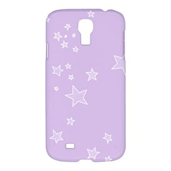 Star Lavender Purple Space Samsung Galaxy S4 I9500/i9505 Hardshell Case