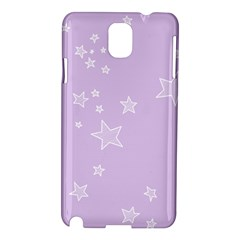 Star Lavender Purple Space Samsung Galaxy Note 3 N9005 Hardshell Case