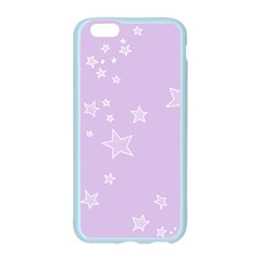 Star Lavender Purple Space Apple Seamless iPhone 6/6S Case (Color)