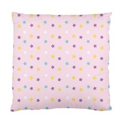 Star Rainbow Coror Purple Gold White Blue Standard Cushion Case (Two Sides)