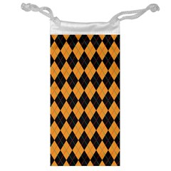 Plaid Triangle Line Wave Chevron Yellow Red Blue Orange Black Beauty Argyle Jewelry Bag