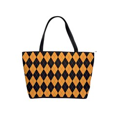 Plaid Triangle Line Wave Chevron Yellow Red Blue Orange Black Beauty Argyle Shoulder Handbags