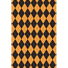 Plaid Triangle Line Wave Chevron Yellow Red Blue Orange Black Beauty Argyle 5.5  x 8.5  Notebooks