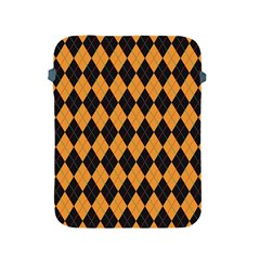 Plaid Triangle Line Wave Chevron Yellow Red Blue Orange Black Beauty Argyle Apple iPad 2/3/4 Protective Soft Cases