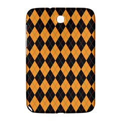 Plaid Triangle Line Wave Chevron Yellow Red Blue Orange Black Beauty Argyle Samsung Galaxy Note 8.0 N5100 Hardshell Case