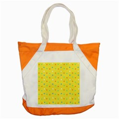 Star Rainbow Coror Purple Gold White Blue Yellow Accent Tote Bag