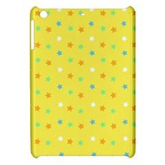 Star Rainbow Coror Purple Gold White Blue Yellow Apple Ipad Mini Hardshell Case