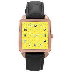 Star Rainbow Coror Purple Gold White Blue Yellow Rose Gold Leather Watch