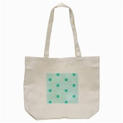 Star White Fan Blue Tote Bag (Cream)