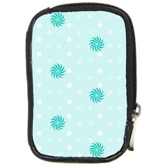 Star White Fan Blue Compact Camera Cases