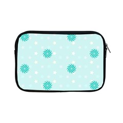 Star White Fan Blue Apple iPad Mini Zipper Cases