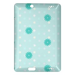 Star White Fan Blue Amazon Kindle Fire HD (2013) Hardshell Case