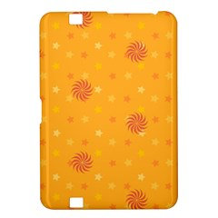 Star White Fan Orange Gold Kindle Fire HD 8.9