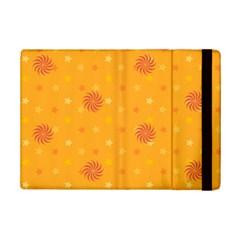 Star White Fan Orange Gold iPad Mini 2 Flip Cases