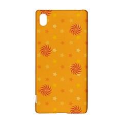 Star White Fan Orange Gold Sony Xperia Z3+