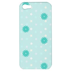 Star White Fan Blue Apple iPhone 5 Hardshell Case