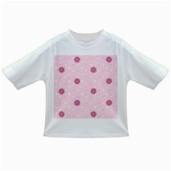 Star White Fan Pink Infant/Toddler T-Shirts