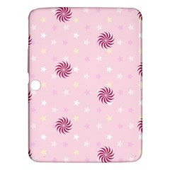 Star White Fan Pink Samsung Galaxy Tab 3 (10.1 ) P5200 Hardshell Case
