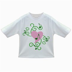 Sweetie Belle s Love Heart Music Note Leaf Green Pink Infant/Toddler T-Shirts