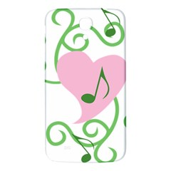 Sweetie Belle s Love Heart Music Note Leaf Green Pink Samsung Galaxy Mega I9200 Hardshell Back Case