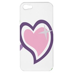 Sweetie Belle s Love Heart Star Music Note Green Pink Purple Apple iPhone 5 Hardshell Case