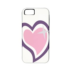 Sweetie Belle s Love Heart Star Music Note Green Pink Purple Apple iPhone 5 Classic Hardshell Case (PC+Silicone)