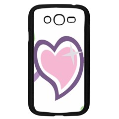 Sweetie Belle s Love Heart Star Music Note Green Pink Purple Samsung Galaxy Grand DUOS I9082 Case (Black)