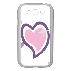 Sweetie Belle s Love Heart Star Music Note Green Pink Purple Samsung Galaxy Grand DUOS I9082 Case (White)