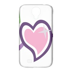 Sweetie Belle s Love Heart Star Music Note Green Pink Purple Samsung Galaxy S4 Classic Hardshell Case (PC+Silicone)