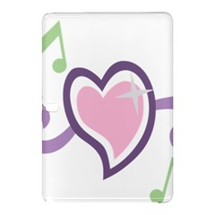 Sweetie Belle s Love Heart Star Music Note Green Pink Purple Samsung Galaxy Tab Pro 12 2 Hardshell Case