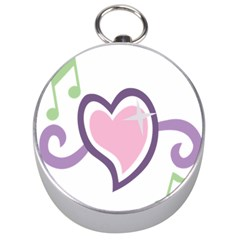 Sweetie Belle s Love Heart Star Music Note Green Pink Purple Silver Compasses