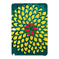 Sunflower Flower Floral Pink Yellow Green Samsung Galaxy Tab Pro 10.1 Hardshell Case