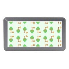 Tree Circle Green Yellow Grey Memory Card Reader (Mini)