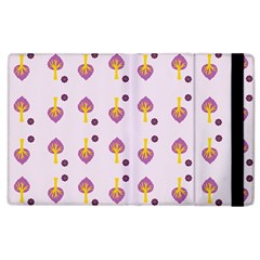 Tree Circle Purple Yellow Apple iPad 3/4 Flip Case