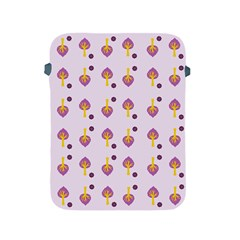 Tree Circle Purple Yellow Apple iPad 2/3/4 Protective Soft Cases