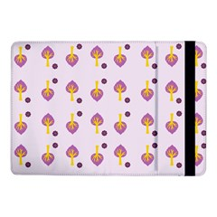 Tree Circle Purple Yellow Samsung Galaxy Tab Pro 10.1  Flip Case