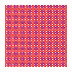 Roll Circle Plaid Triangle Red Pink White Wave Chevron Medium Glasses Cloth (2-Side)