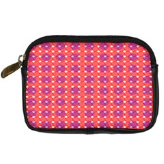 Roll Circle Plaid Triangle Red Pink White Wave Chevron Digital Camera Cases