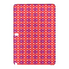 Roll Circle Plaid Triangle Red Pink White Wave Chevron Samsung Galaxy Tab Pro 12.2 Hardshell Case