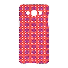 Roll Circle Plaid Triangle Red Pink White Wave Chevron Samsung Galaxy A5 Hardshell Case
