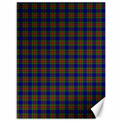 Tartan Fabrik Plaid Color Rainbow Canvas 36  x 48