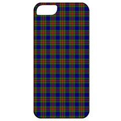 Tartan Fabrik Plaid Color Rainbow Apple iPhone 5 Classic Hardshell Case