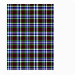 Tartan Fabrik Plaid Color Rainbow Triangle Large Garden Flag (Two Sides)
